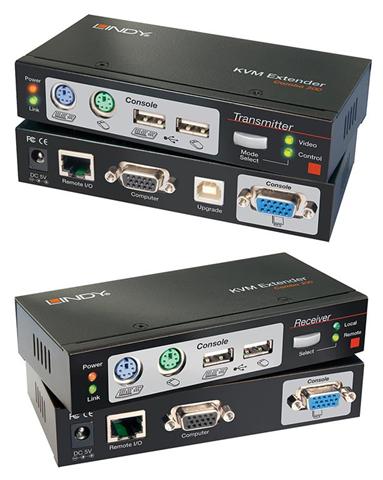 Lindy 39378 Nero Switch per keyboard-video-mouse (KVM)