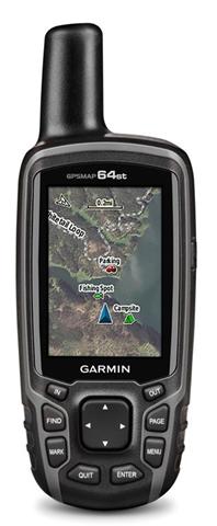 Garmin GPSMAP 64st navigatore 6,6 cm (2.6) TFT Portatile Nero 260,1 g
