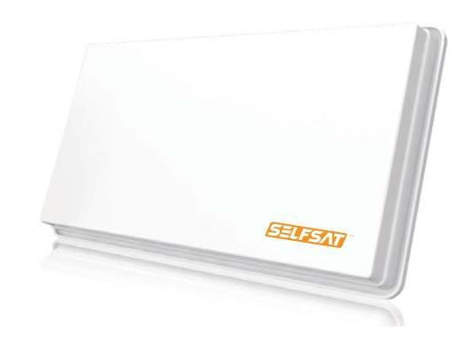 Selfsat H30D2 10.7 - 12.75GHz Bianco antenna per satellite