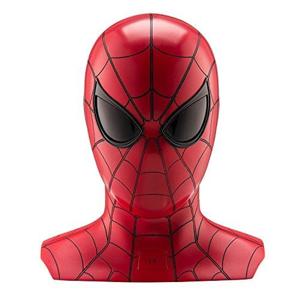 Ekids VI b72sh Marvel Spider Man Bluetooth Wireless Speaker con occhi brillanti portatile Rosso