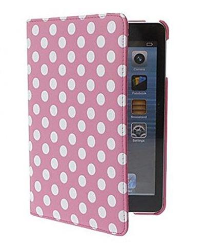 """Mobiletto 124127 9.7"""" Custodia a libro Rosa, Bianco custodia per tablet"""