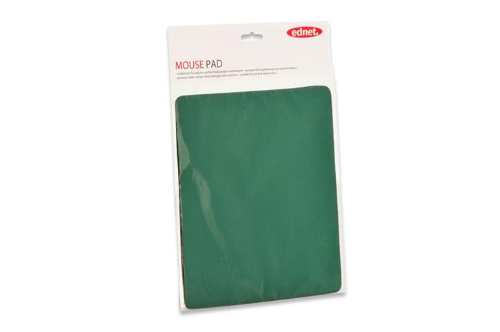 Tappetino per mouse 3 mm. misure cm. 26x22 colore verde