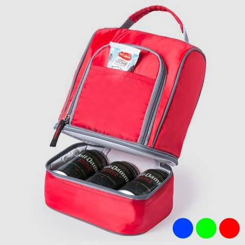 bigbuy outdoor borsa frigo con scompartimenti 145593
