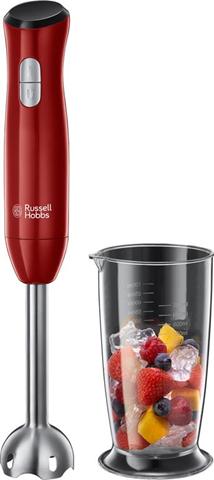 russell hobbs desire 0,7 l frullatore ad immersione 500 w rosso, acciaio inossidabile