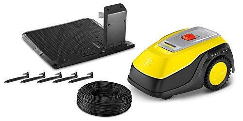 krcher rlm 4 tagliaerba robotizzato batteria nero, giallo