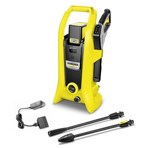 krcher 1.117-220 idropulitrice verticale batteria nero, giallo 340 l/h