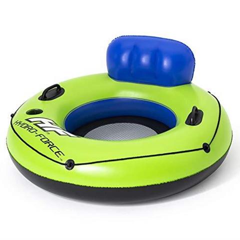 bestway galleggiante per piscina hydro-force 106 cm verde