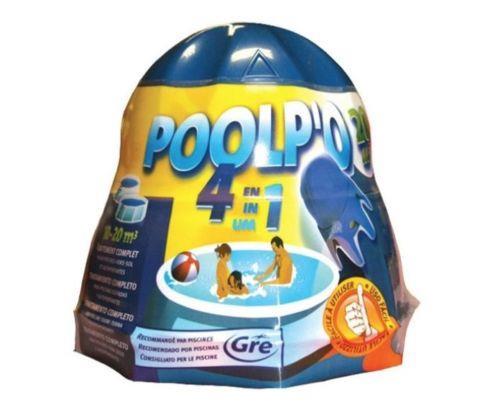 peraga multiazione per piscina galleggiante in involucro poolp'o 4 azioni da 500 gr