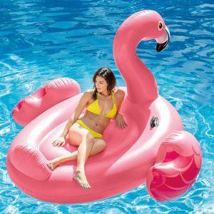 intex galleggiante per piscina mega flamingo island 56288eu