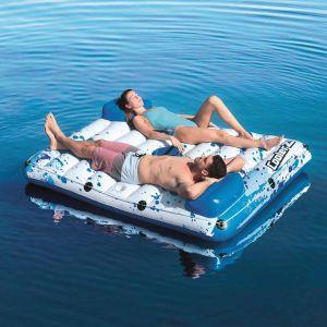 bestway coolerz galleggiante piscina side 2 side floating lounge 43119