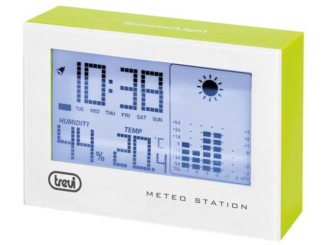 Trevi ME 3103 Batteria Verde stazione meteo