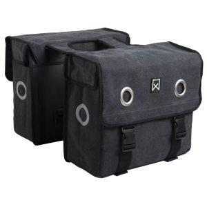 willex borse laterali da bicicletta 40 l nere 11101