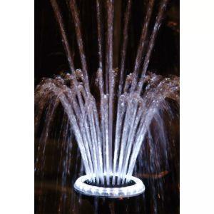 ubbink faretto a led 1/2 per fontana da giardino