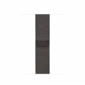 Apple 40mm Graphite Milanese Loop Band Grafite Acciaio inossidabile