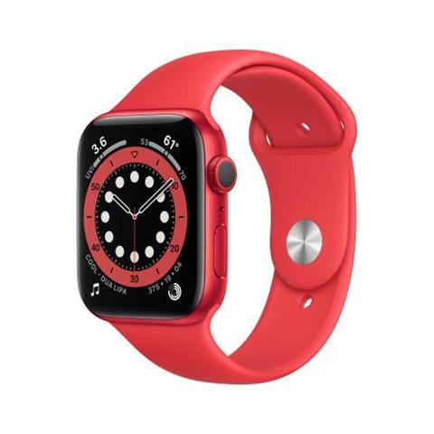 Apple Watch Series 6 44 mm OLED Rosso GPS (satellitare)