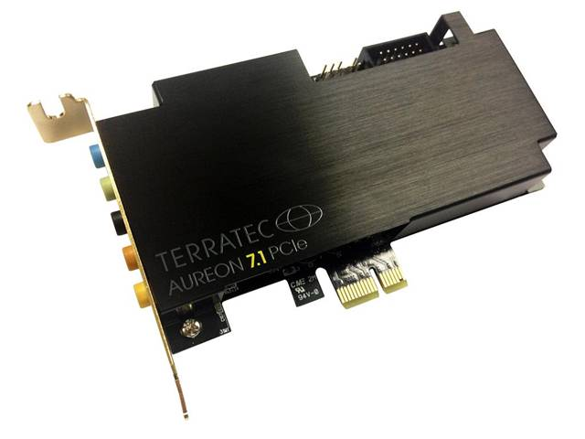 Terratec Aureon 7.1 PCIe Interno 7.1channels PCI-E