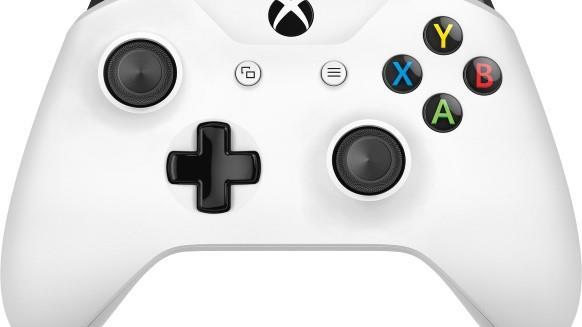 Microsoft Xbox Wireless Controller Gamepad PC, Xbox One S Bianco