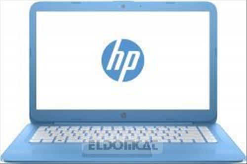"""HP Stream 14-ax004nl Notebook, Display da 14"""", Processore Intel N3060, 1.6 GHz, eMMC da 32 MB 4 GB di RAM, Scheda Grafica Intel HD 400, Blu Acqua"""