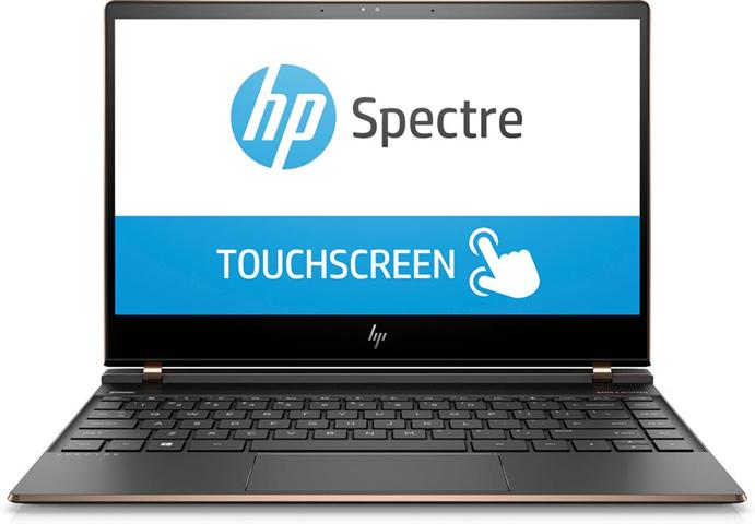 """HP Spectre 13 -af003ng Nero, Rame Computer portatile 33,8 cm (13.3"""") 1920 x 1080 Pixel Touch screen Intel® Core™ i7 di ottava generazione i7-8550U 16 GB LPDDR3-SDRAM 512 GB SSD"""