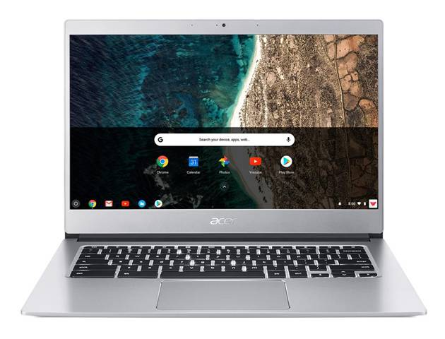 "Acer Chromebook CB514-1H-C81U Argento 35,6 cm (14"") 1920 x 1080 Pixel Intel® Celeron® N3350 4 GB LPDDR4-SDRAM 32 GB eMMC Chrome OS"