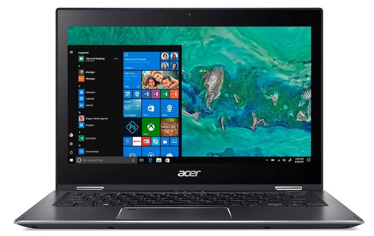 """Acer Spin 5 SP513-53N-76HD Grigio Ibrido (2 in 1) 33,8 cm (13.3"""") 1920 x 1080 Pixel Touch screen Intel® Core™ i7 di ottava generazione i7-8565U 16 GB DDR4-SDRAM 512 GB SSD"""