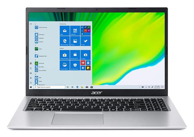 "Acer Aspire 3 A315-35-P20R DDR4-SDRAM Computer portatile 39,6 cm (15.6"") 1920 x 1080 Pixel Intel Pentium Silver 8 GB 256 GB SSD Wi-Fi 5 (802.11ac) Windows 10 Home Argento"