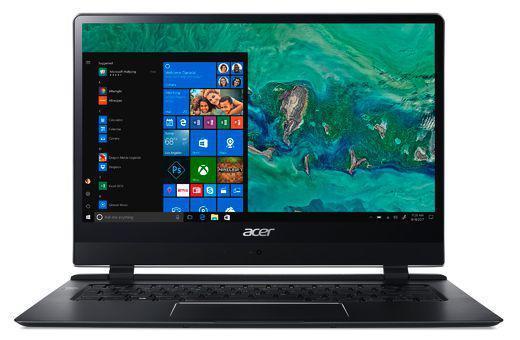 "Acer Swift 7 SF714-51T -M97L Nero Computer portatile 35,6 cm (14"") 1920 x 1080 Pixel Touch screen Intel® Core™ i7 di settima generazione i7-7Y75 8 GB LPDDR3-SDRAM 256 GB SSD 3G 4G"