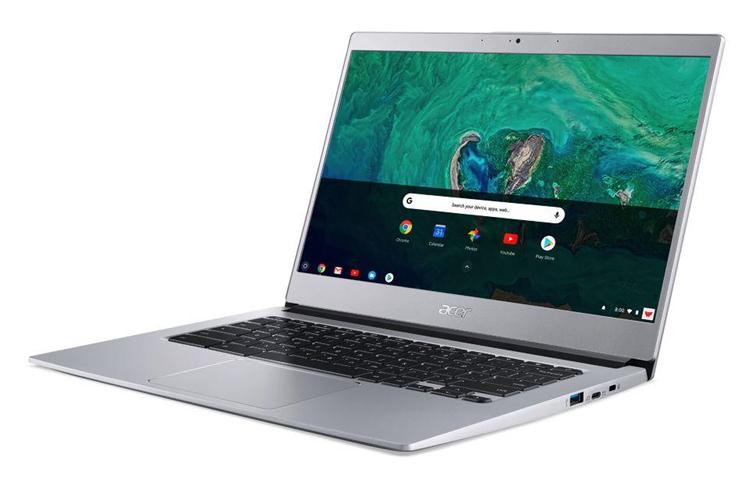 "Acer Chromebook CB514-1HT-P1BM Argento 35,6 cm (14"") 1920 x 1080 Pixel Touch screen Intel® Pentium® N4200 8 GB LPDDR4-SDRAM 64 GB eMMC"