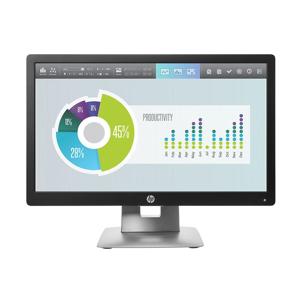 "HP EliteDisplay E202 50,8 cm (20"") 1600 x 900 Pixel HD+ LED Nero, Argento"