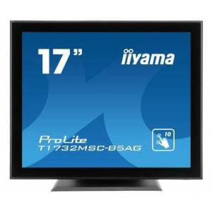 "IIYAMA ProLite T1732MSC-B5AG monitor touch screen 43,2 cm (17"") 1280 x 1024 Pixel Nero Multi-touch"