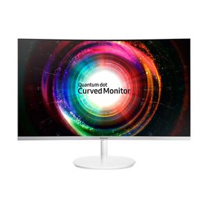 """Samsung SyncMaster C27H711QEU LED display 68,6 cm (27"""") Wide Quad HD Curvo Opaco Bianco] Samsung SyncMaster C27H711QEU LED display 68,6 cm (27"""") Wide Quad HD Curvo Opaco Bianco"""