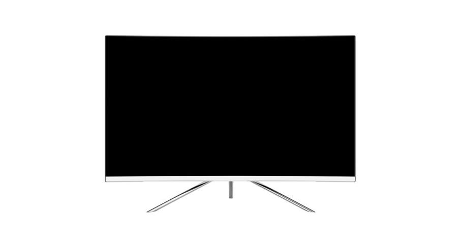 "Denver MLC-3201MK2 monitor piatto per PC 80 cm (31.5"") Full HD LED Curvo Bianco"