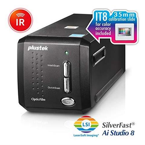 plustek opticfilm 8200i ai scanner per pellicola/diapositiva 7200 x 7200 dpi nero