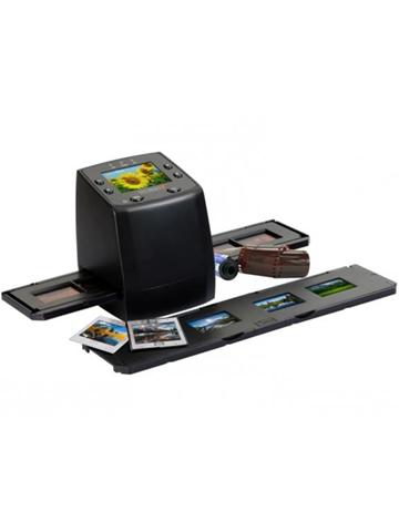 technaxx digiscan ds-02 scanner per pellicola/diapositiva nero