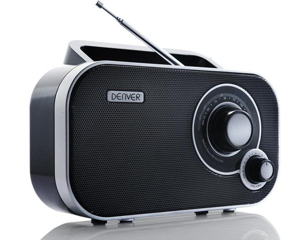 Denver TR-54 MK2 radio Portatile Analogico Nero
