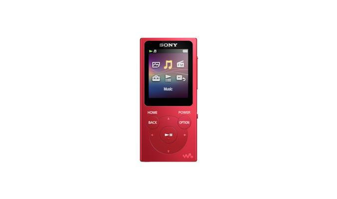 Sony Walkman NWE394LR.CEW lettore e registratore MP3/MP4 Lettore MP3 Rosso 8 GB