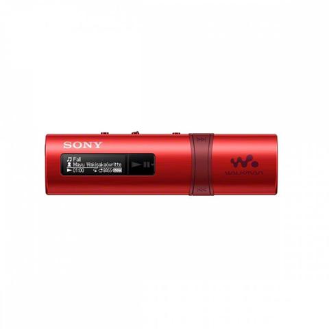 Sony walkman nwz-b183f - lettore Digitale - Flash 4 Gb - rosso