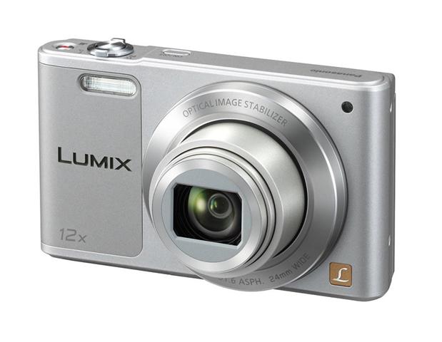 Panasonic Lumix DMC-SZ10EG-S Fotocamera, 16MP, Optical Zoom 12x, Stabilizzatore O.I.S, Wi-Fi Certified, Video HD, Argento