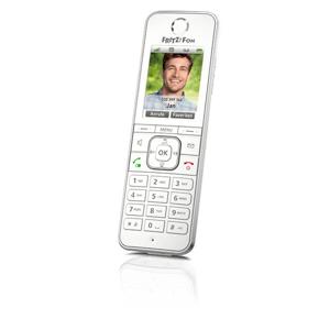 AVM FRITZ!Fon C6 Telefono DECT Identificatore di chiamata Bianco