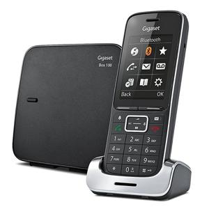 Siemens SL450 Analog/DECT telephone Identificatore di chiamata Nero