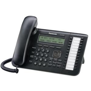 Panasonic KX-NT543 telefono IP Nero Cornetta cablata LCD 3 linee