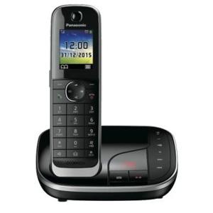 Panasonic KX-TGJ320 DECT Identificatore di chiamata Nero