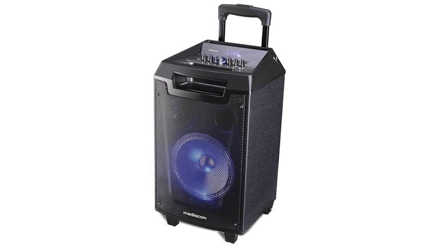Mediacom MusicBox X90S 90 W Sistema PA trolley Nero