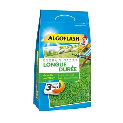 algoflash fertilizzante per prato a lunga durata 3 mesi 5,75 kg
