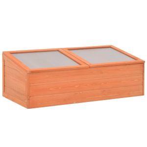 vidaxl serra in legno 100x50x34 cm