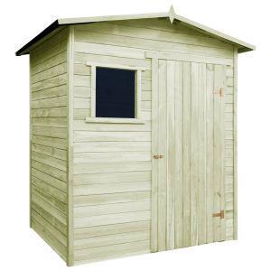 vidaxl casetta da giardino 1,5x2 m in legno di pino impregnato