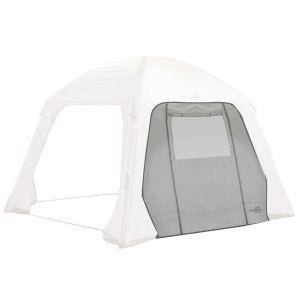 Bo-Camp Parete Laterale Tenda con Porta e Finestra Air Gazebo Grigio
