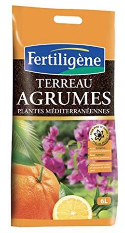 nd fertiligene fag6p  terriccio per agrumi/piante mediterranee, 6 l