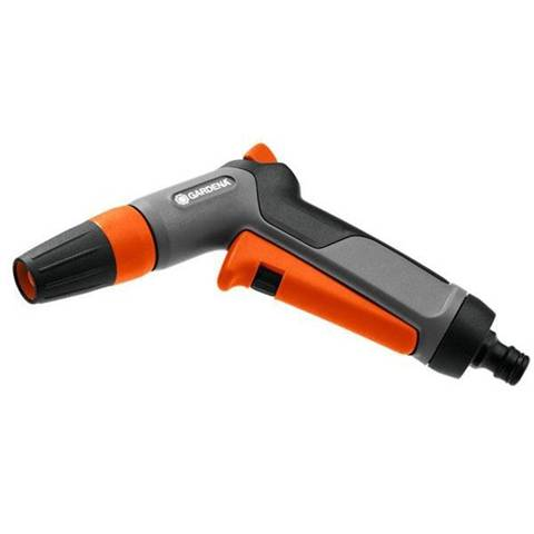 gardena 18301-20 ugello atomizzatore per pistola ad acqua da giardino pistola a spruzzo d'acqua da giardino grigio, arancione