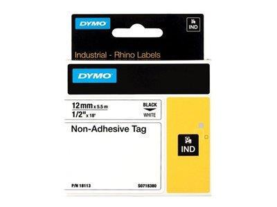 Dymo 12mm RHINO Non-adhesive tag nastro per etichettatrice D1